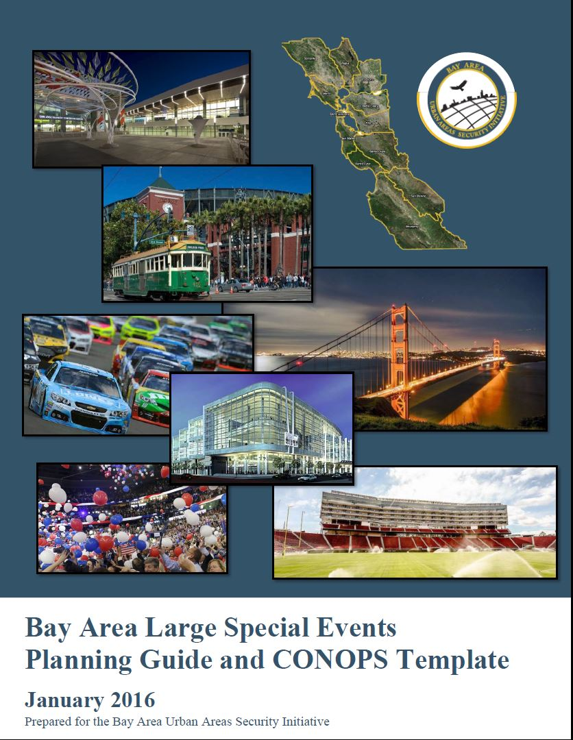 Bay Area Large Special Event Planning Guide and CONOPS | Bay